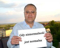 Grzegorz Musiałowicz: Gdy nienormalność jest normalna